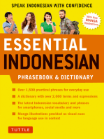 Essential Indonesian Phrasebook & Dictionary: Speak Indonesian with Confidence! (Revised and Expanded)