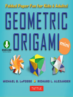 Geometric Origami Mini Kit Ebook: Folded Paper Fun for Kids & Adults! This Kit Contains an Origami Book with Downloadable Instructions