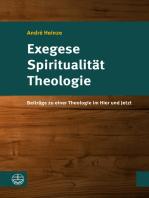 Exegese – Spiritualität – Theologie