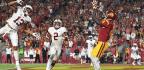 Trojans Establish Run Early to Beat Cardinal at Their Own Game