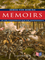 Memoirs of the Confederate War for Independence (Volumes 1&2)