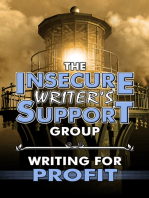 The Insecure Writer's Support Group Writing for Profit