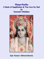 Vinaya-Patrika A Book of Supplication & True Love for God by Goswami Tulsidas