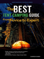 The Best Tent Camping Guide: From Novice To Expert: Northwoods Camping Series, #1