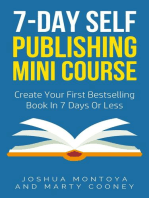 7-Day Publishing Minicourse