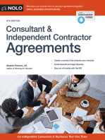Consultant & Independent Contractor Agreements
