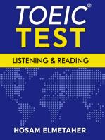 TOEIC® Test: Listening & Reading