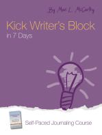 Kick Writer's Block in 7 Days