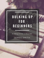Bulking Up For Beginners