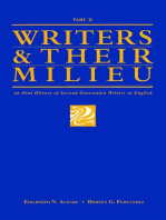 Writers and Their Milieu: An Oral History of Second Generation Writers in English, Part 2