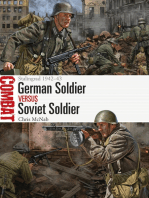 German Soldier vs Soviet Soldier