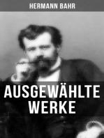 Ausgewählte Werke von Hermann Bahr