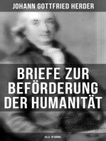 Briefe zur Beförderung der Humanität (Alle 10 Bände)