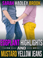 Eggplant Highlights and Mustard Yellow Jeans