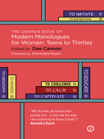 The Oberon Book of Modern Monologues for Women: Teens to Thirties