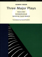 Three Major Plays