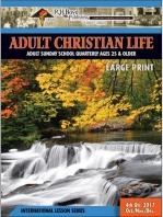 Adult Christian Life