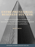 Entrepreneurial Business Success
