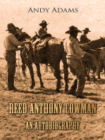 Reed Anthony Cowman - An Autobiography