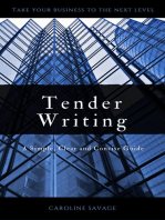 Tender Writing: A Simple, Clear and Concise Guide