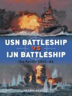 USN Battleship vs IJN Battleship: The Pacific 1942–44