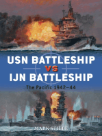 USN Battleship vs IJN Battleship
