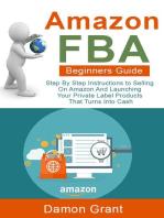 Amazon FBA Beginners Guide