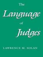 The Language of Judges