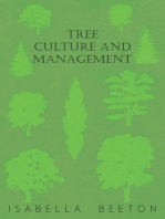 Tree Culture and Management