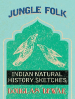 Jungle Folk - Indian Natural History Sketches