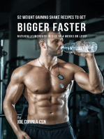 52 Weight Gaining Shake Recipes to Get Bigger Faster