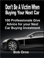 Don't Be a Victim When Buying Your Next Car