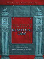 Bar Review Companion: Remedial Law: Anvil Law Books Series, #2