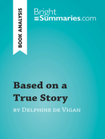 Based on a True Story by Delphine de Vigan (Book Analysis)