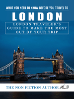 What You Need to Know Before You Travel to London