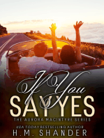 If You Say Yes