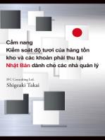 Cẩm nang Kiểm soát độ tươi của hàng tồn kho và các khoản phải thu tại Nhật Bản dành cho nhà quản lý