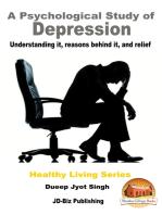A Psychological Study of Depression