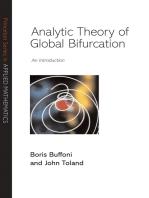 Analytic Theory of Global Bifurcation