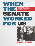 When the Senate Worked for Us