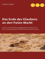 Das Ende des Glaubens an den freien Markt