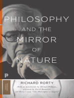 Philosophy and the Mirror of Nature