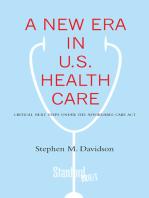 A New Era in U.S. Health Care