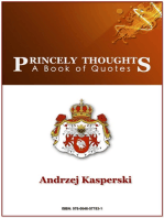 Princely Thoughts