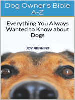 Dog Owners Bible A-Z