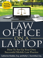 Law Office on a Laptop