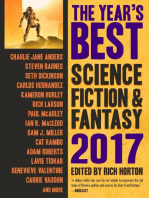 The Year's Best Science Fiction & Fantasy, 2017 Edition: The Year's Best Science Fiction & Fantasy, #9