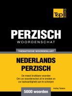 Thematische woordenschat Nederlands-Perzisch: 5000 woorden