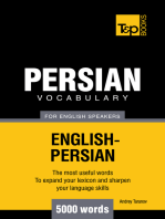 Persian vocabulary for English speakers: 5000 words