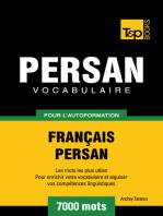 Vocabulaire Français-Persan pour l'autoformation